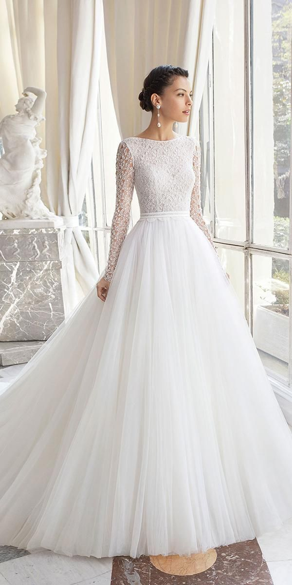 Long Sleeves Wedding Dresses - Rosa Clará