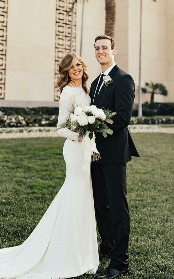 Long Sleeve Wedding Dresses Ideas