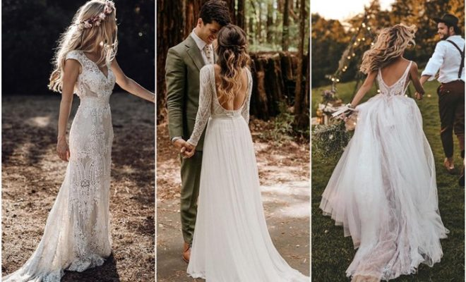 Top 18 Rustic Country Wedding Dresses