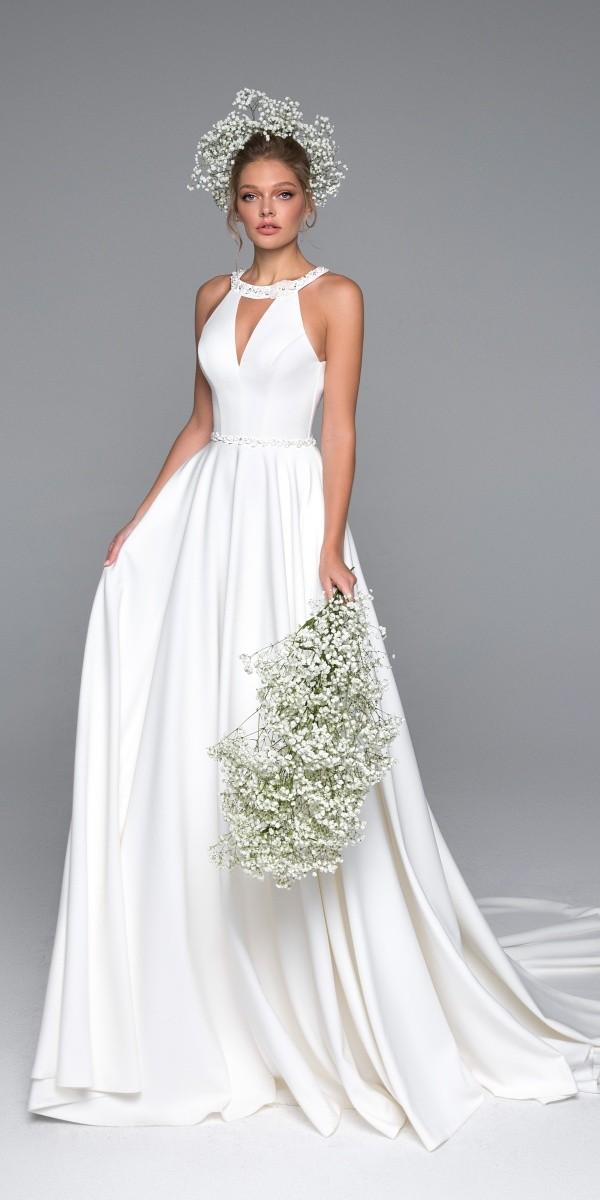 Eva Lendel elegant simple wedding dresses alex