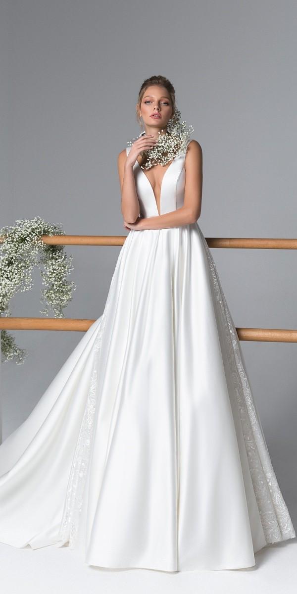 Eva Lendel elegant simple wedding dresses jessica_2