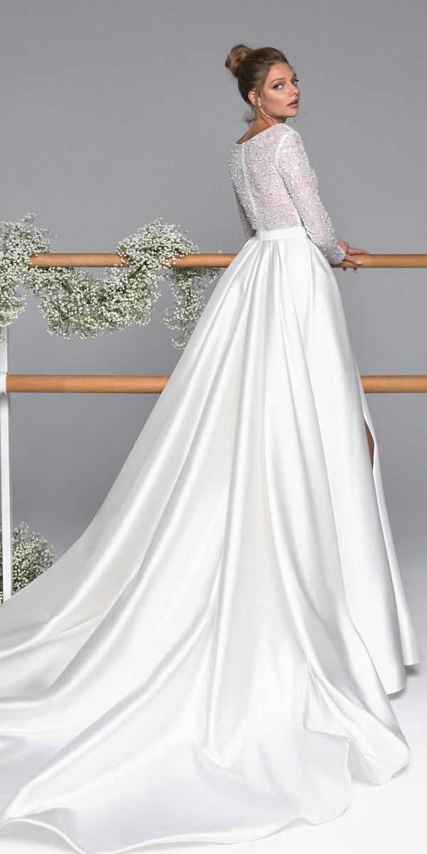 Eva Lendel elegant simple wedding dresses kylie
