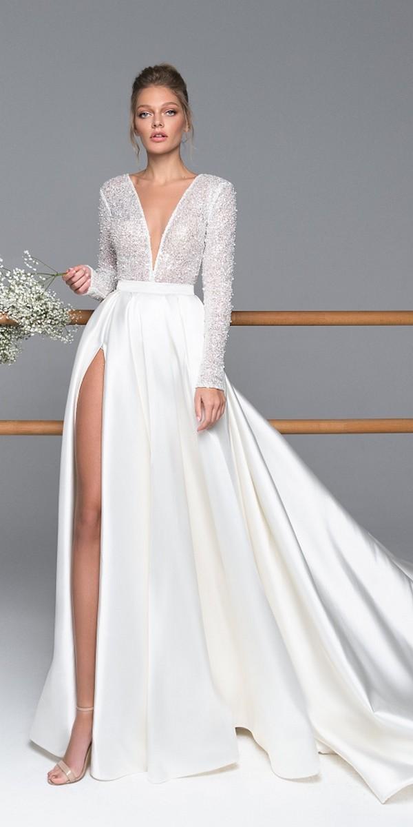 Eva Lendel elegant simple wedding dresses kylie_3
