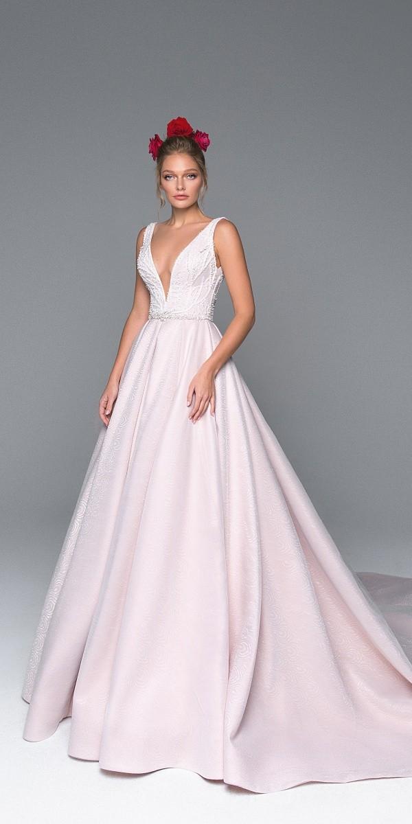 Eva Lendel elegant simple wedding dresses luchia_2