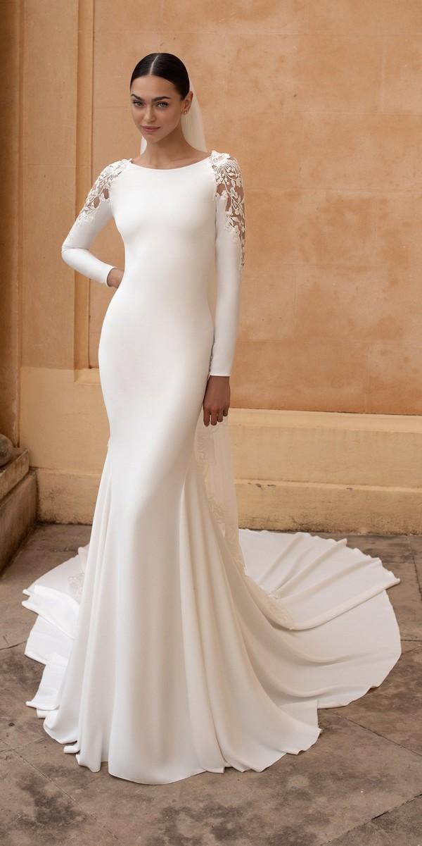 Pronovias wedding dresses 2020 FROSTIA_B