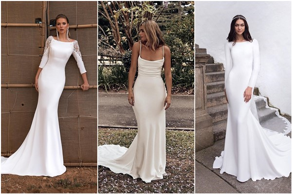 20 Modest Simple Wedding Dresses Show Me Your Dress