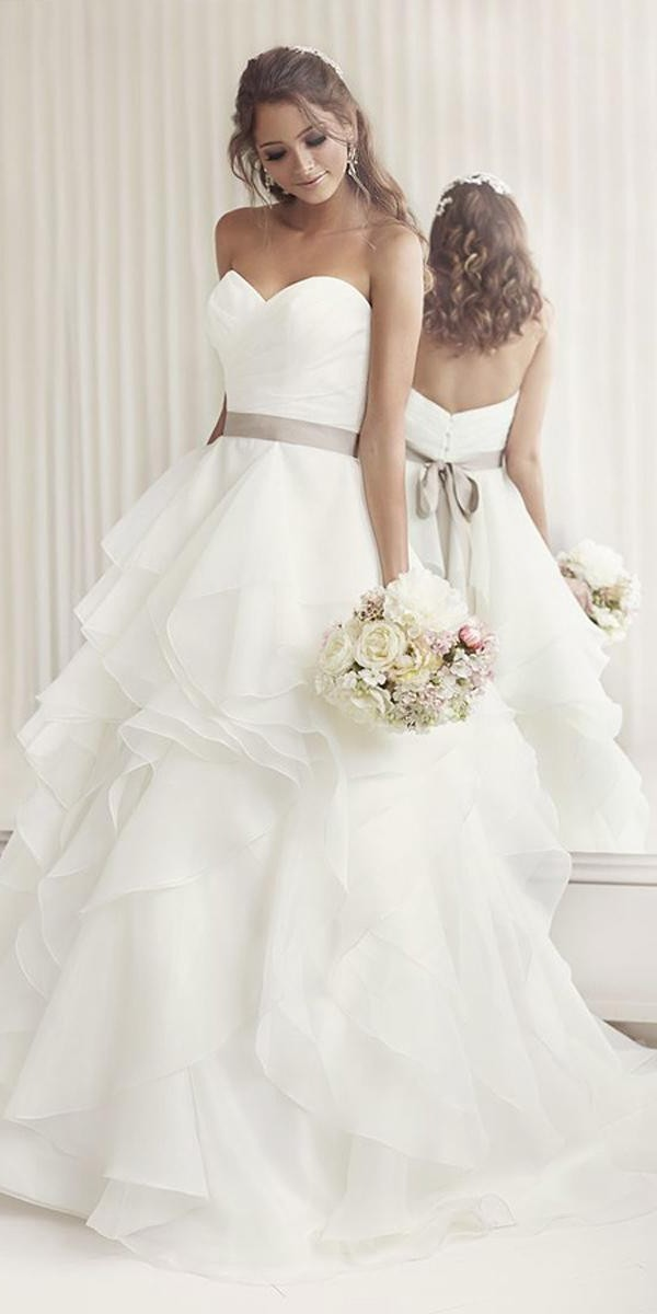 strapless sweetheart neckline wedding dresses essense of australia