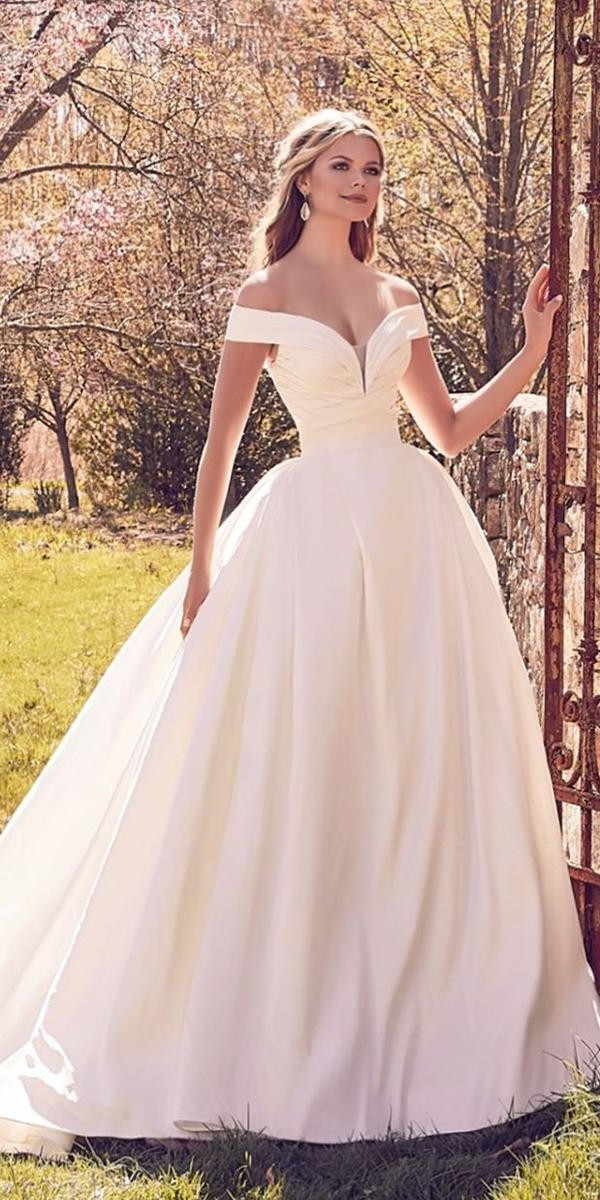 strapless wedding dresses simple ball gown off the shoulder morileeofficia