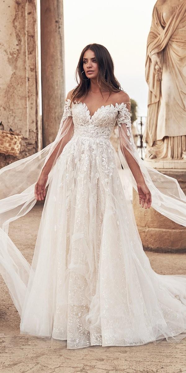 wona wedding dresses a line sweetheart neckline floral lace appliques fernanda