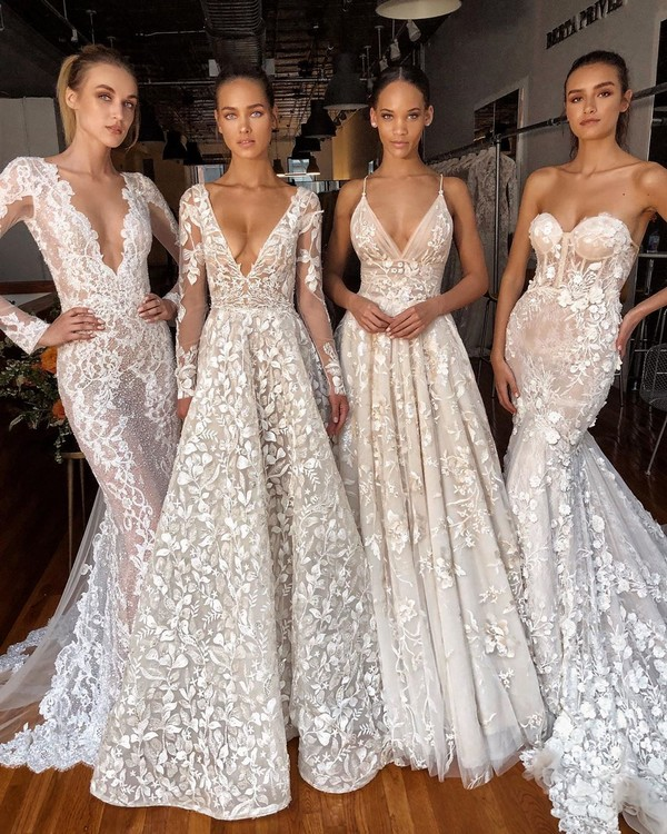 Berta 2020 Wedding Dresses #wedding #weddingdresses #dresses #weddingideas