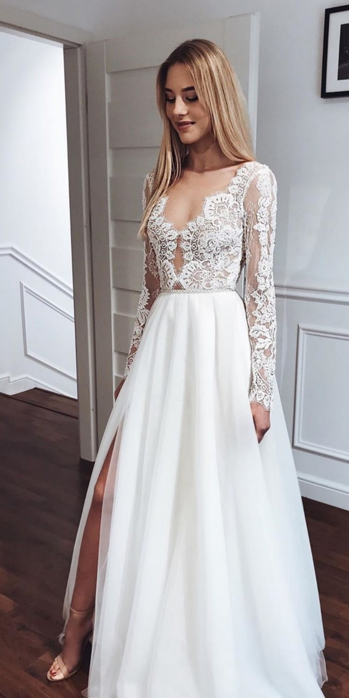 Lace Wedding Dresses from tomsebastien_official  #wedding #dresses #weddingdresses #weddingideas #bridaldresses