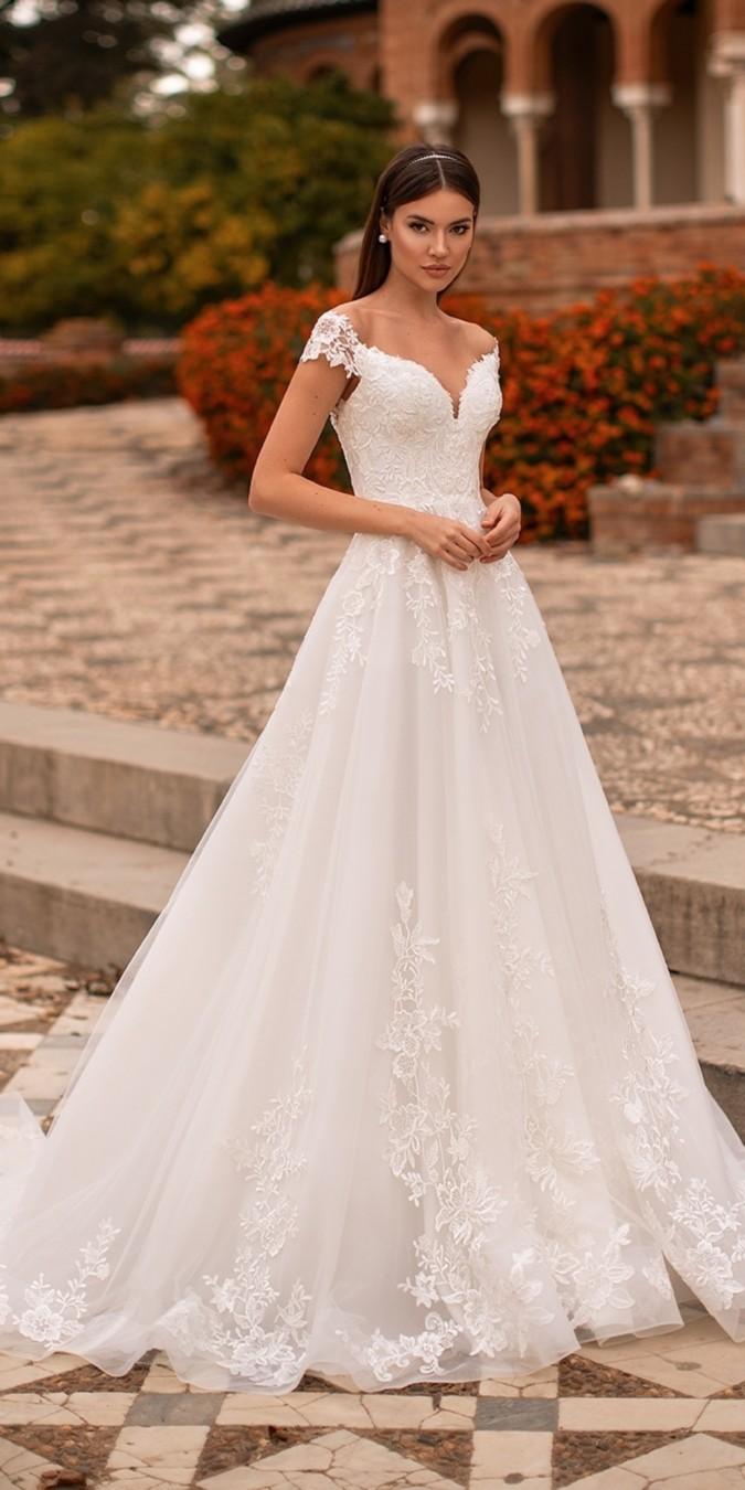 Nora Naviano Wedding Dresses 2021 #wedding #weddingdresses #weddingideas #bridaldresses